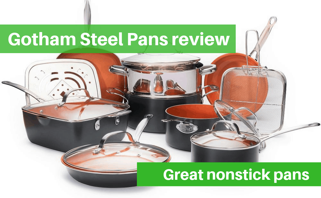 Gotham Steel pans review – Great nonstick and even cooking